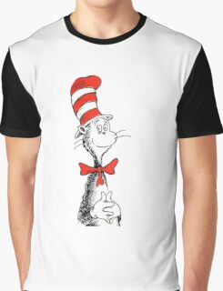 Dr Suess | Official | Cat In The Hat Graphic T-Shirt