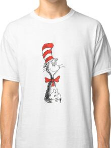 Dr Suess | Official | Cat In The Hat Classic T-Shirt
