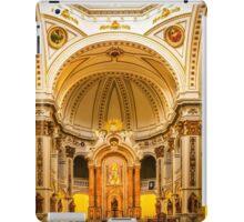 Inside the church of La Mare de Déu del Consol iPad Case/Skin