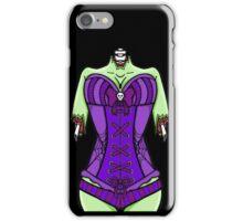 Corset Zombie iPhone Case/Skin