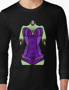 Corset Zombie Long Sleeve T-Shirt
