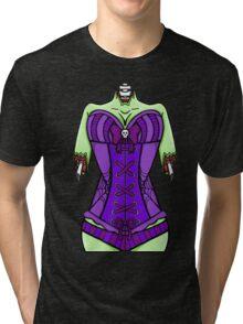 Corset Zombie Tri-blend T-Shirt