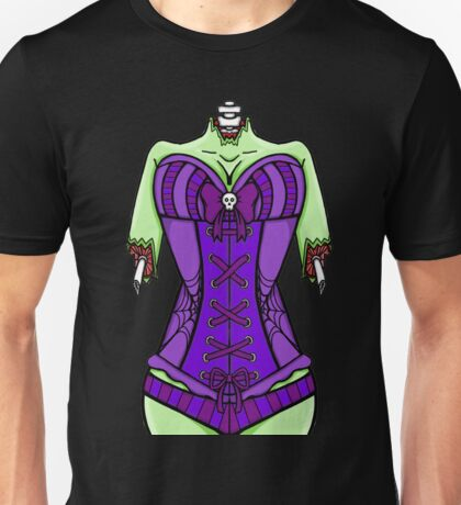 Corset Zombie Unisex T-Shirt