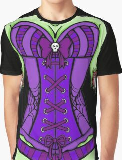 Corset Zombie Graphic T-Shirt