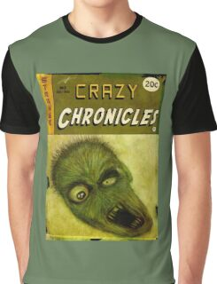 Crazy Chronicles - Meet Charlie Graphic T-Shirt
