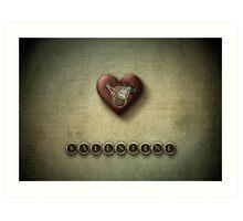 Steampunk Valentine Art Print