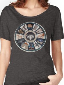 mosaic Hebrew, Jewish, 12 tribes Women's Relaxed Fit T-Shirt