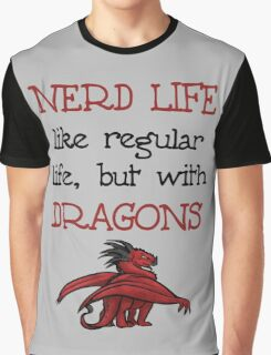 Nerd Life Graphic T-Shirt