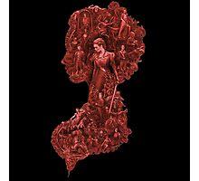 Pride + Prejudice + Zombies movie comedy horror logo Elizabeth Bennet   Photographic Print
