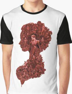 Pride + Prejudice + Zombies movie comedy horror logo Elizabeth Bennet   Graphic T-Shirt