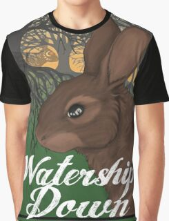 Visit Beautiful Watership Down Graphic T-Shirt