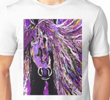 Horse Purple Unisex T-Shirt