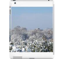 Ashurst Wood Snow iPad Case/Skin