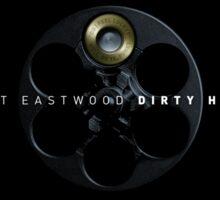 Dirty Harry - Movie Poster Sticker