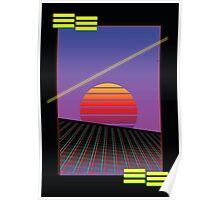 Retro Sunset Poster
