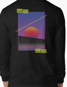 Retro Sunset Long Sleeve T-Shirt