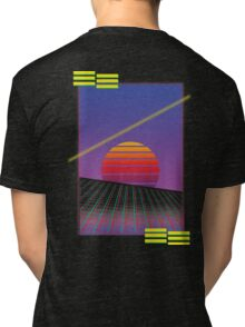 Retro Sunset Tri-blend T-Shirt