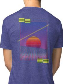 Retro Sunset Tri-blend T-Shirt
