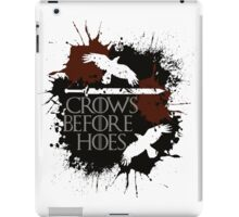 Crows Before Hoes - GoT iPad Case/Skin