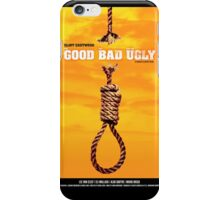 The Good, the Bad and the Ugly - Movie Poster iPhone Case/Skin