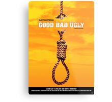 The Good, the Bad and the Ugly - Movie Poster Metal Print