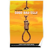 The Good, the Bad and the Ugly - Movie Poster Poster