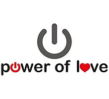 Power of Love Photographic Print