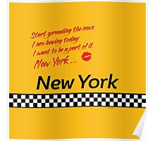 TAXI of New York, New York Poster
