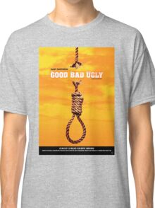 The Good, the Bad and the Ugly - Movie Poster Classic T-Shirt