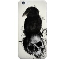 Raven and Skull iPhone Case/Skin