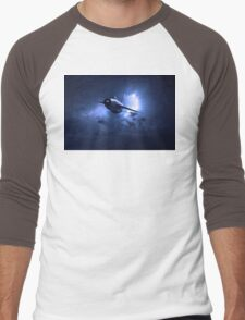 Lightning Storm Men's Baseball ¾ T-Shirt