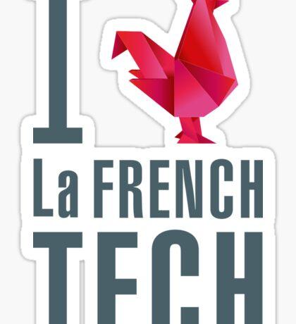 I Love La French Tech Sticker
