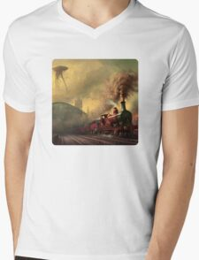 The fall of London Mens V-Neck T-Shirt