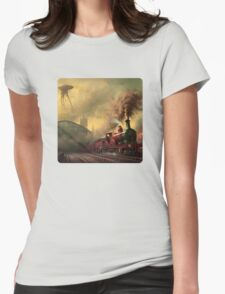 The fall of London Womens Fitted T-Shirt