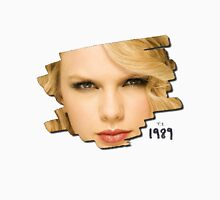 face Taylor swift - ts 1989 Women's Fitted Scoop T-Shirt