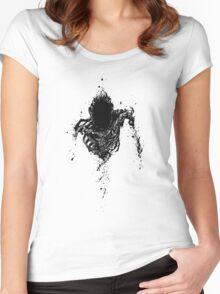 Ajin Women's Fitted Scoop T-Shirt