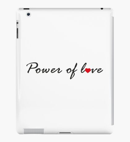Power of Love V.1.1 iPad Case/Skin