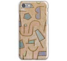 Paul Klee, Slightly Dry Poem iPhone Case/Skin