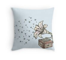 Natures Sound Throw Pillow
