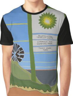 Stuart Highway Attractions! Graphic T-Shirt