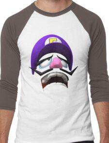 Waluigi Face Men's Baseball ¾ T-Shirt