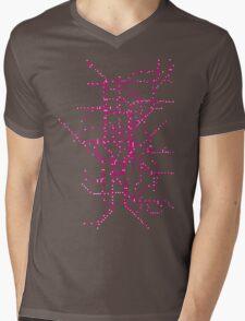 The Tube Mens V-Neck T-Shirt