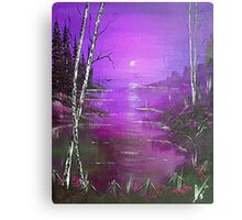 Violet Jamaica Sunrise Canvas Print