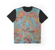 Fantasy Fall Flowers Graphic T-Shirt