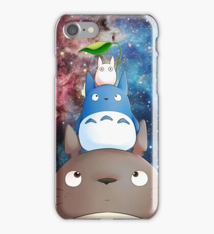 totoro galaxy iPhone Case/Skin