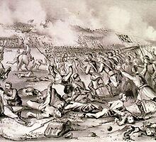 Battle of Fredericksburg, Va - 1862 - Currier & Ives by CrankyOldDude