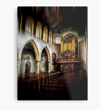 Church Organ Metal Print