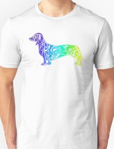 Dachshund Blue  Unisex T-Shirt