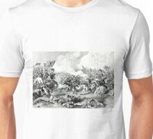 Battle of Pea Ridge, Arkansas - 1862 - Currier & Ives Unisex T-Shirt