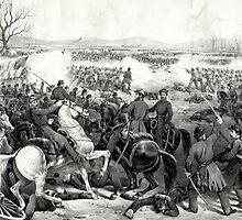 Battle of Pittsburgh, Tenn - 1862 - Currier & Ives by CrankyOldDude